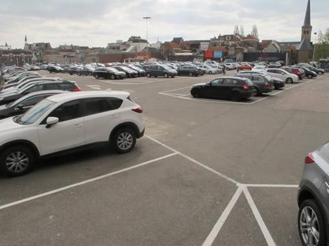hittestress parkeerplaats Breda